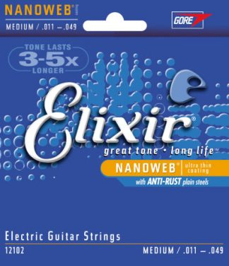 Elixir Electric Guitar String 12102 Front