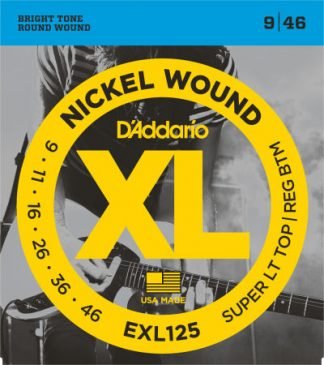D'Addario Electric Guitar String EXL125 Front