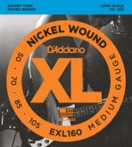 D'Addario Electric Guitar String EXL160 Front