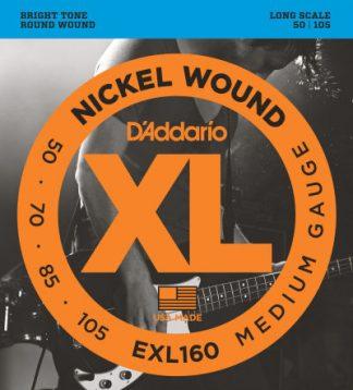 D'Addario Electric Guitar String EXL160 Front
