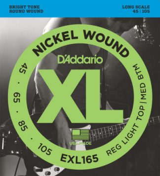 D'Addario Electric Guitar String EXL165 Front