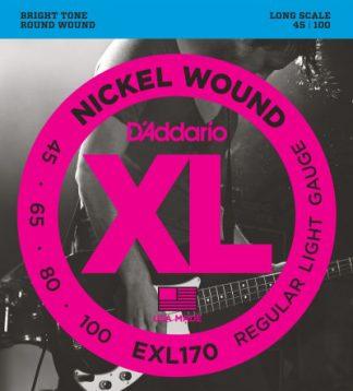 D'Addario Electric Guitar String EXL170 Front