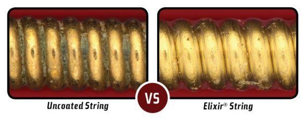 Elirir Strings Retain Tone Longer