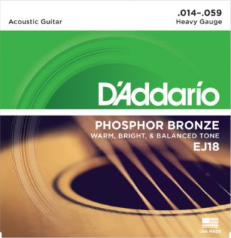 D'Addario Acoustic Guitar EJ18 Front