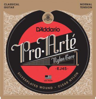 D'Addario Acoustic Nylon Guitar EJ45 Front