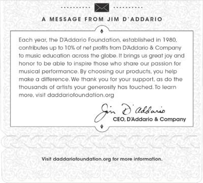 D'Addario Acoustic Nylon Guitar EJ44 Detal 3