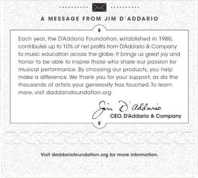 D'Addario Acoustic Nylon Guitar EJ46 Detail 3