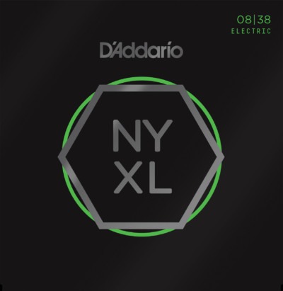 D'Addario Electric Guitar NYXL0838 Front